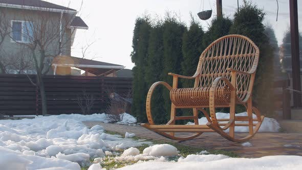 Outdoors Rocking Chair