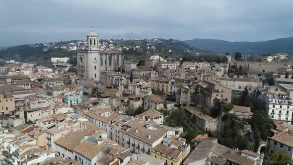 Thumbnail for Landscape Of Girona City In Spain