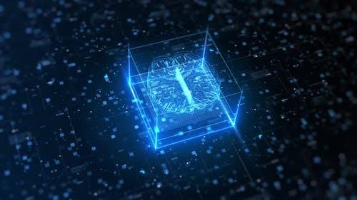 Künstliche Intelligenz der Zukunftstechnologie 00751