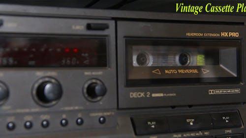 Vintage Cassette Player