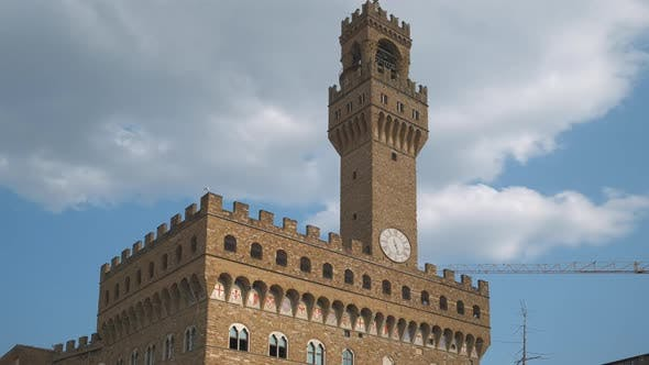 Palazzo Vecchio Old Palace in Florence, Italy