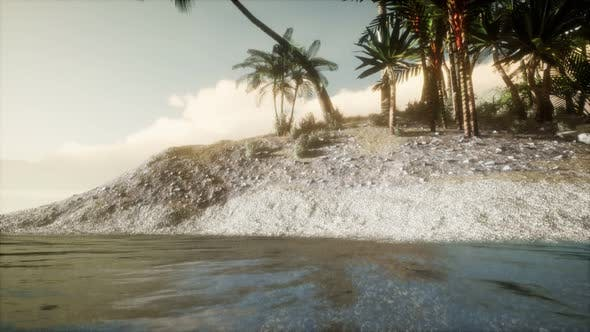 Thumbnail for Soft Twilight of the Amazing Tropical Marine Beach