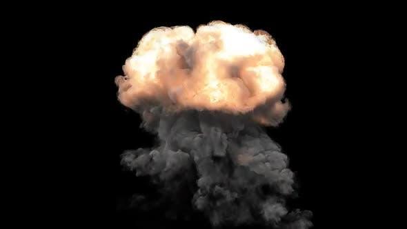 Detailed 4K Explosion