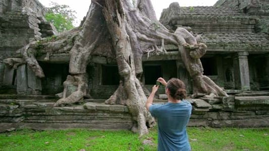 Besucher Picture Nature Of Preah Khan