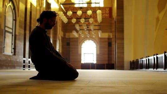 Thumbnail for Namaz - Muslim Man Worship In Mosque