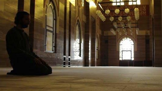 Thumbnail for Namaz - Muslim Man Worship In Mosque 2