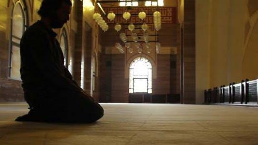 Thumbnail for Namaz - Muslim Man Worship In Mosque 3