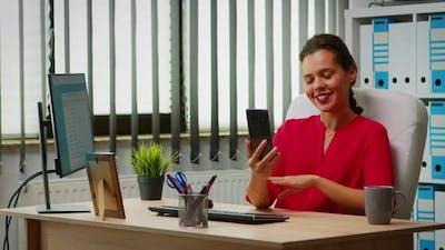 Online Meeting on Phone