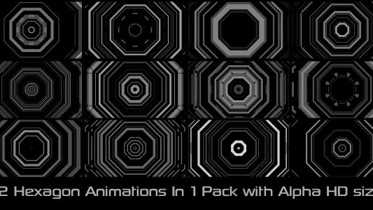 Cover Image for Hexagon Elements Pack 01