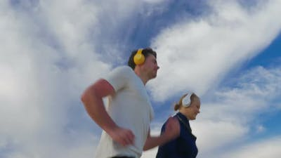Everyday jogging with music