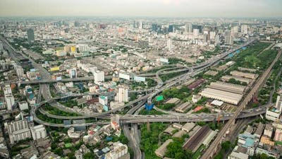 Bangkok Thailand Time Lapse