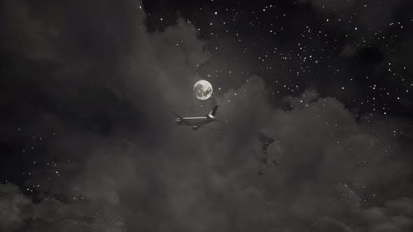 Thumbnail for Flight At Night 4K