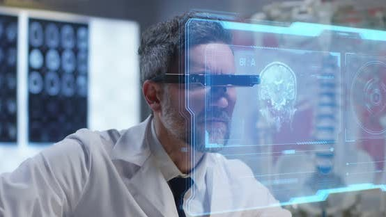 Thumbnail for Doctor Using Holographic Display for Research