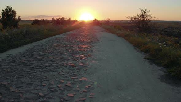 Landscape of Road in Rural Scene