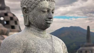 Borobudur Buddha Statue - Indonesia