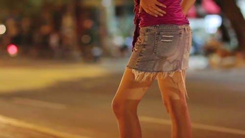 Prostitute Waiting For Costumer 4
