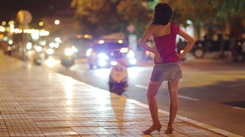 Prostitute Waiting For Costumer 3