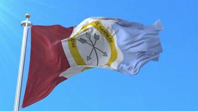 Santa Fe Province Flag, Argentina