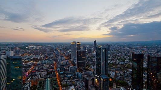 Thumbnail for Above Skyline Sunset