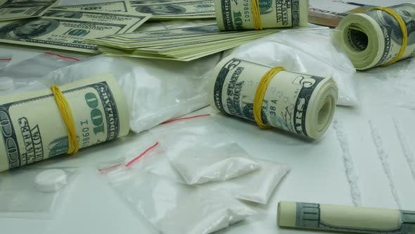 Thumbnail for Illegal Dirty Profit of the Drug Cartel from the Sale of Cocaine