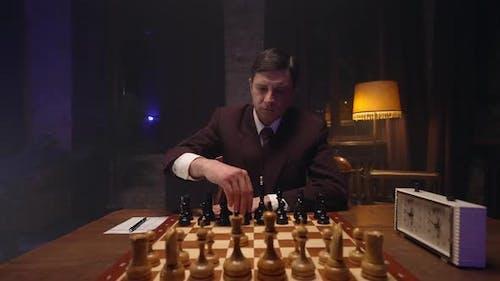 Chess Player Play Chess