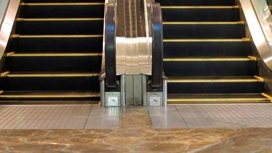 Thumbnail for Escalator in Shopping Mall Center