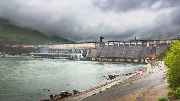 Thumbnail for Fog Over the Hydroelectric Power Station