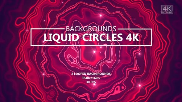 Thumbnail for Liquid Circles Smooth Magenta Backgrounds