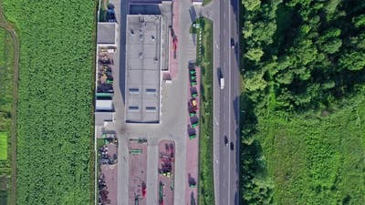 Industrial Buildings and Tractors