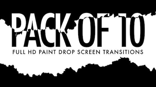 Thumbnail for Paint Drop Screen - Pack of 10