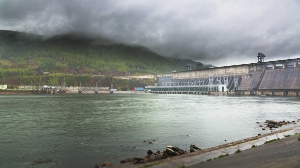 Thumbnail for Cloud Over the Hydroelectric Power Station