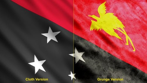 Papua New Guinea Flags