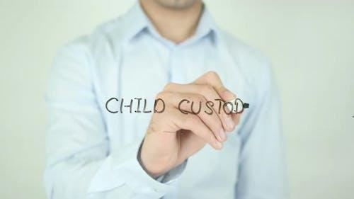 Child Custody, Writing On Screen