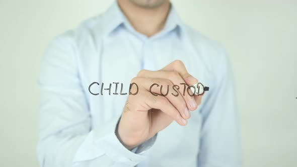 Thumbnail for Child Custody, Writing On Screen