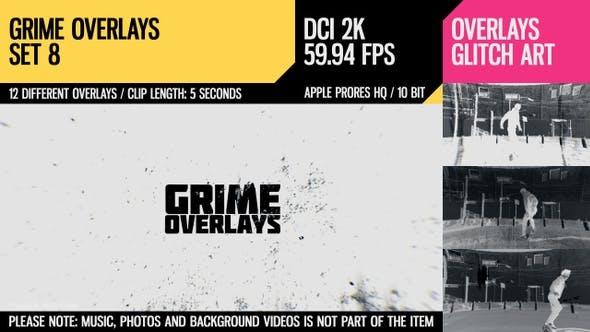 Thumbnail for Grime Overlays (2K Set 8)