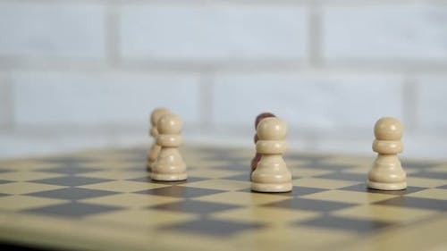 Forces on Chess Board