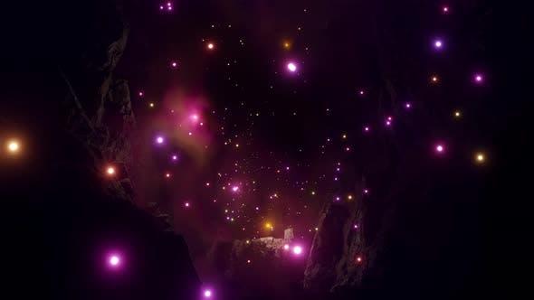 Mysterious Light Up Underwater Caves Adventure 03 4K