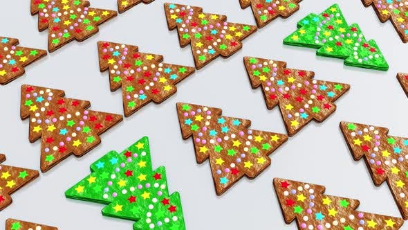 Thumbnail for Christmas Tree Cookies