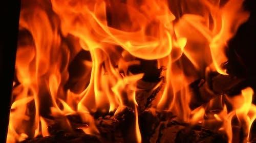Firewood Super Slow Motion