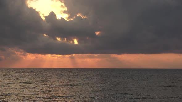 Thumbnail for Sonnenstrahlen Meer Wolken
