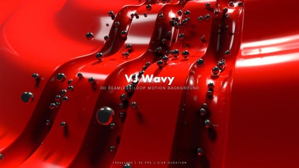 Thumbnail for VJ Wavy Motion 2