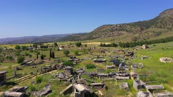 Thumbnail for Antike Ruinen von Hierapolis Pamukkale - Denizli - Türkei.