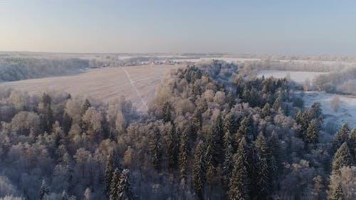 Winter Landscape Countryside