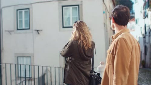 A Woman Taking Pictures