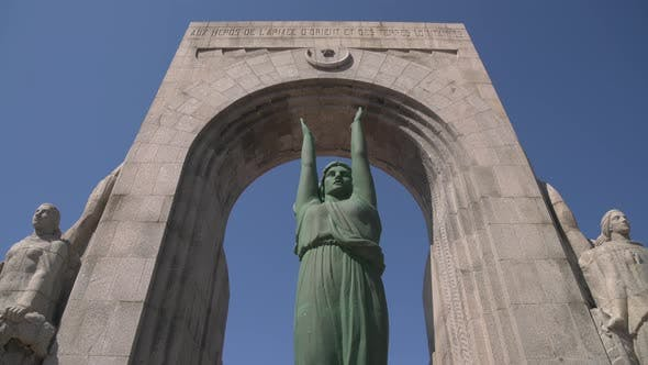 Thumbnail for War Memorial Monument in Marseille