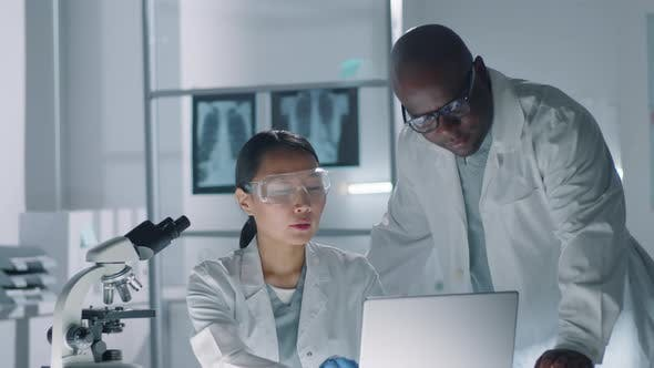 Thumbnail for Doctors Coworking In Laboratory