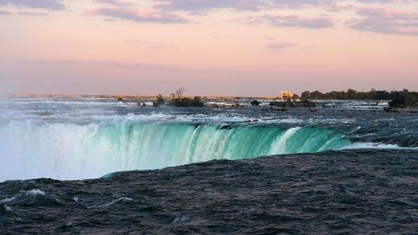Thumbnail for Horseshoe Falls at Niagara Falls viewed from the canadian