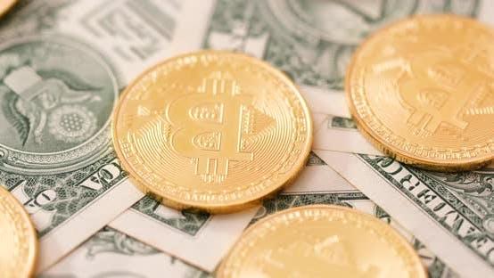 Thumbnail for Golden Bitcoin And US Dollar