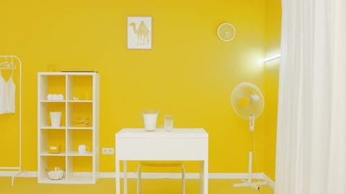 Nice Yellow Interior