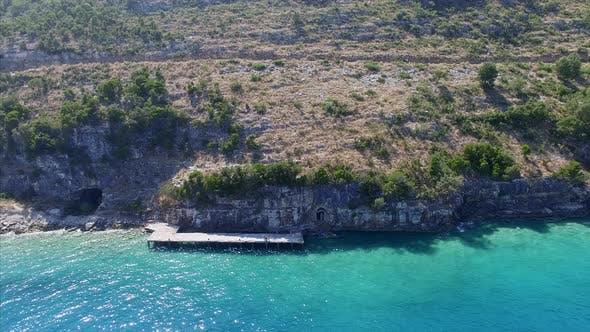 Dock in Albania
